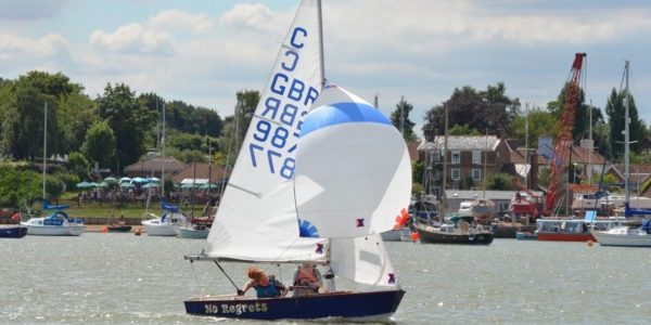 sponsoring the Cadet Open Meeting at Waldringfield Sailing Club for the tenth year. The event on 24 & 25 June