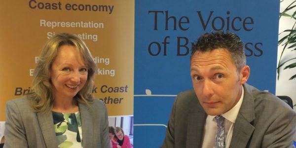 Suffolk Chamber & Suffolk Coast Business agree closer working arrangement
