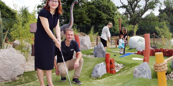 Congo Rapids Adventure Golf celebrates one year at Ufford Park