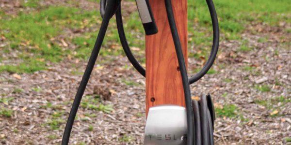 Bruisyard Hall installs Tesla electric car charger 2