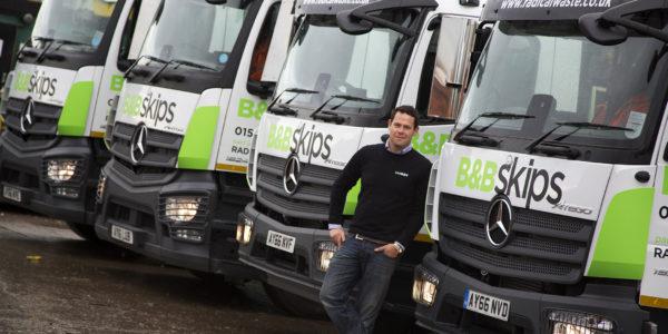Orwell Truck & Van helps B&B Skips