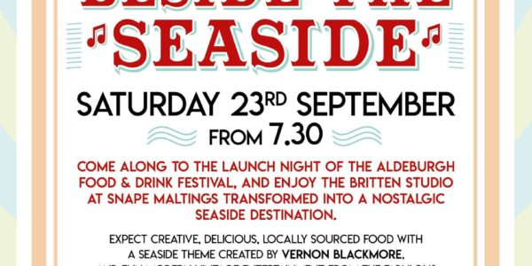 Aldeburgh Food & Drink Festival is putting on a party 1