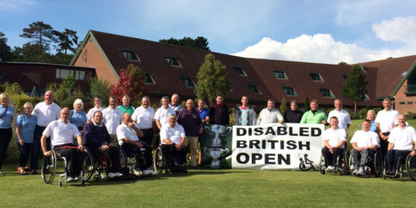 Disabled British Golf Open 2017