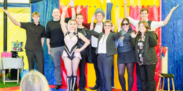 Christies Care's free Circus performance
