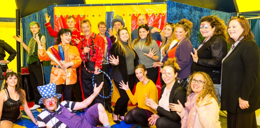 Circus performance for people with Learning Disabilities a huge success!