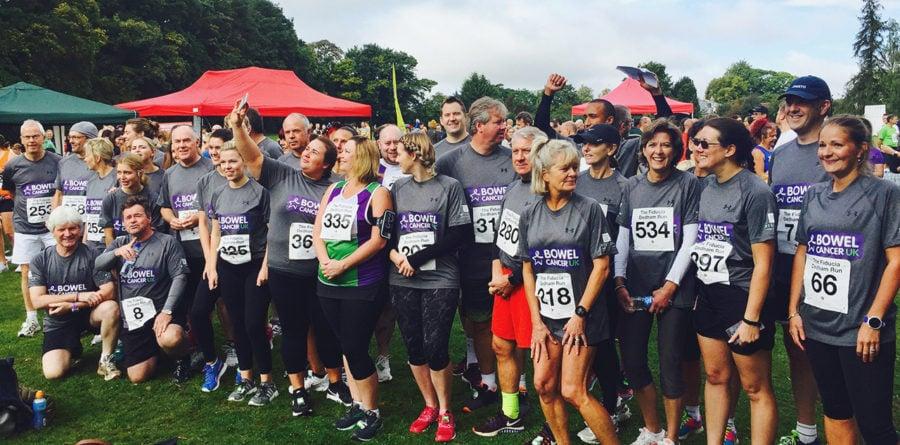 Milsoms Team raise £18K for Bowel Cancer UK