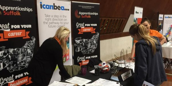 Popular careers fair returns to Woodbridge