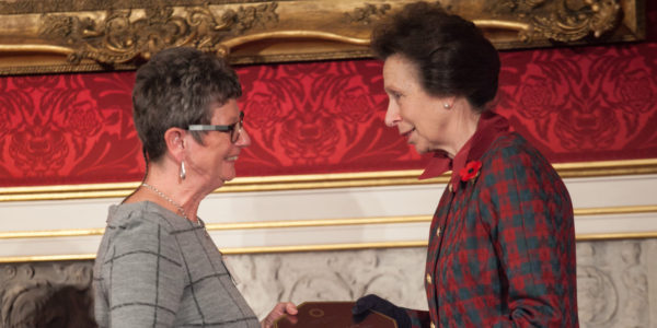 Princess Royal Commends Christies Care's Training Excellence