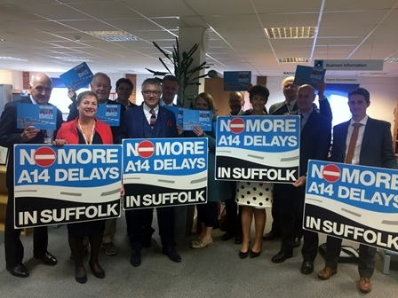 A14 in Suffolk identified as a potential expressway