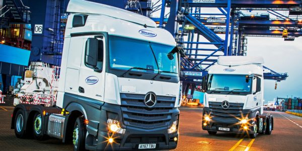 Wincanton puts safety first with Mercedes-Benz trucks