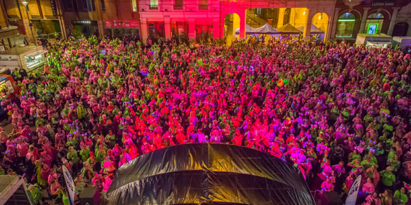 More than 1,000 people signed up to Midnight Walk
