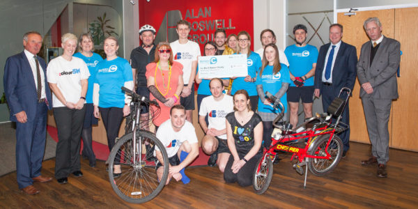 Alan Boswell Group raises more than £70,000