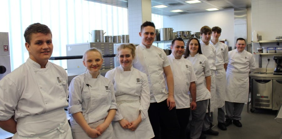 The Unruly Pig and Suffolk New College team up for a culinary event