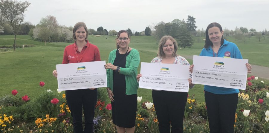 Ufford Park's 'Donate Whilst You Stay' campaign raises over £2000
