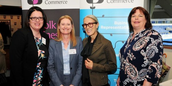 Fashion guru and commentator wows Suffolk Business Women event