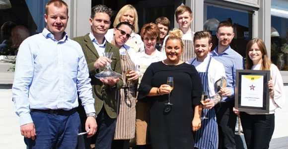 Suffolk pub and restaurant team celebrates national prize.