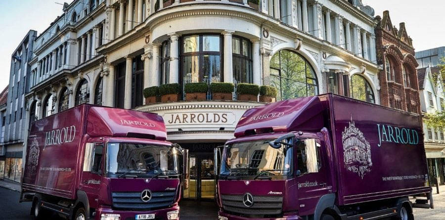 Jarrold welcomes new Mercedes-Benz Atego from Orwell Truck & Van