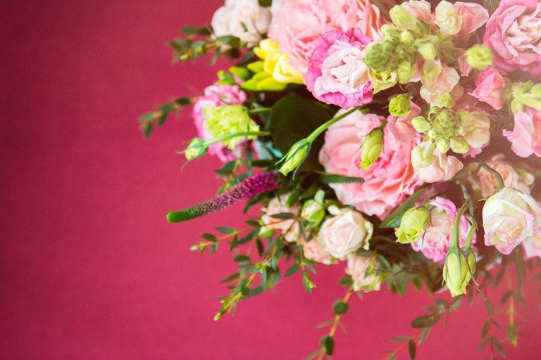 Keep the surprise alive with a regular bouquet of flowers