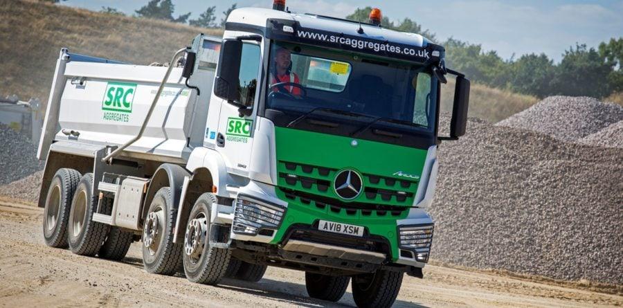 SRC Aggregates acquires fuel-efficient Mercedes-Benz trucks