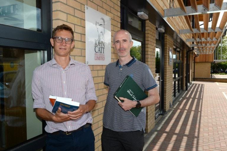 John Catt Publishing moves in to new premises at Riduna Park