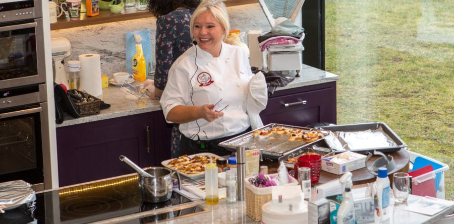 Anglia Factors and NEFF host cooking demo