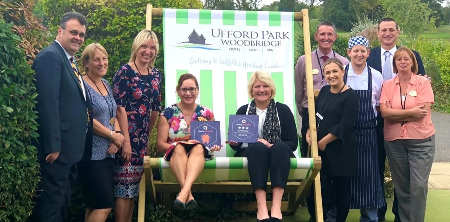 Ufford Park awarded Quality in Tourism accreditation
