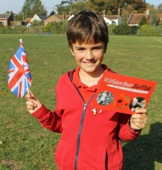 Celebrating 100 years of volunteering in Suffolk