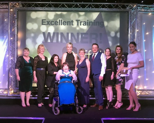 Christies Care wins at the Suffolk Care Awards