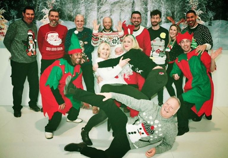 Get your Christmas jumpers on in aid of St. Elizabeth Hospice