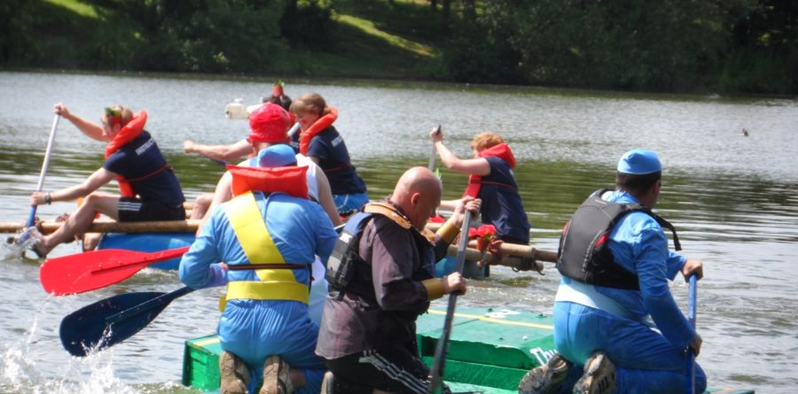 Raft Racers reach £2,500 in donations to local charity FSNB