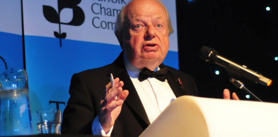 Capacity crowd enjoys John Sergeant Chamber event