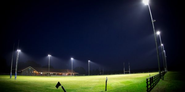 New floodlights
