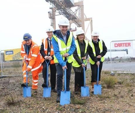 Harwich International hosts new Offshore Wind Base