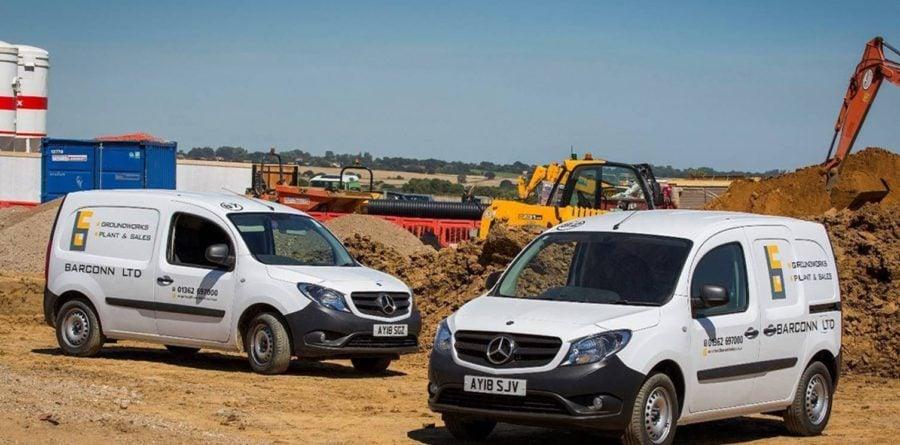 Barconn adds to their fleet with Mercedes-Benz Vans