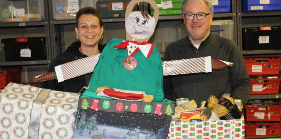 Flagship helps distribute festive food hampers to local charities