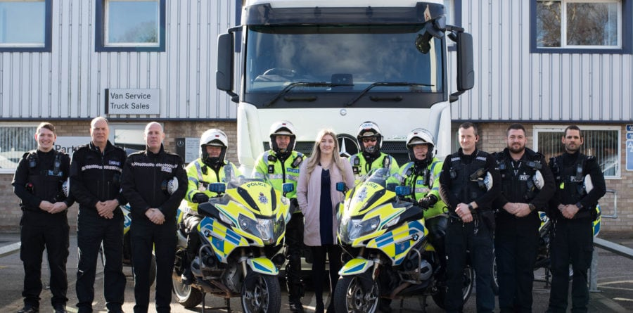 Orwell Truck & Van supports successful police Operation