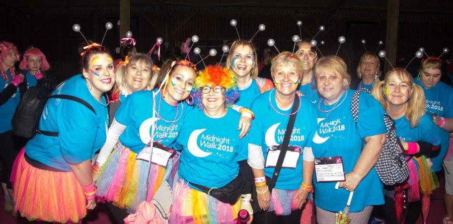 Get ready for the St Elizabeth Hospice Midnight Walk on Saturday!