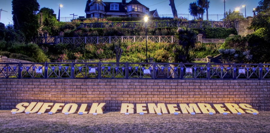 Hadleigh woman supports 'Suffolk Remembers' event in memory of husband