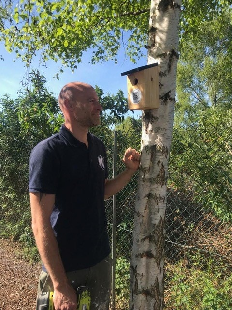 Masterlord Estates encourages local wildlife with new addition