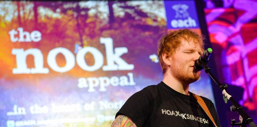 Win Ed Sheeran's guitar with EACH's charity auction