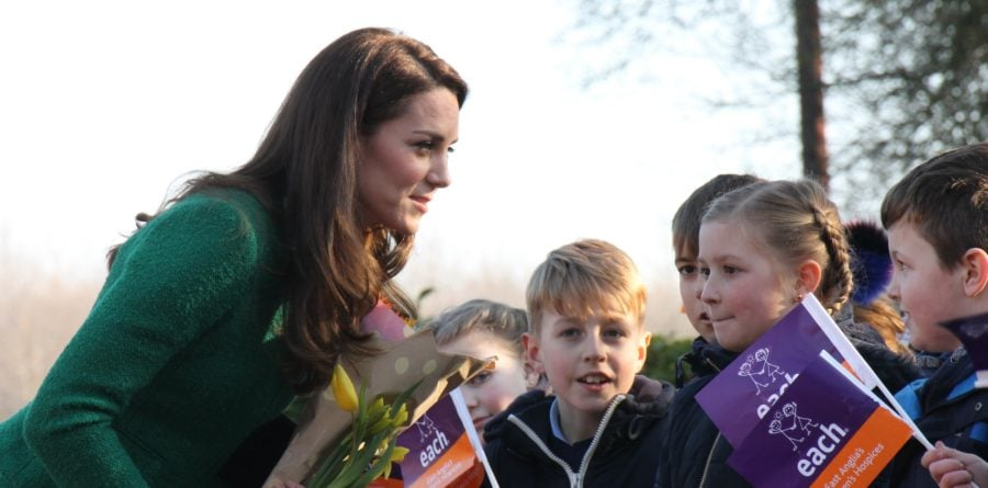 Children's hospices 'a truly heart-warming example to us all,' says Duchess of Cambridge