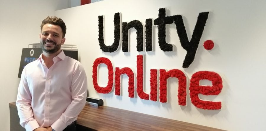Unity Online founder shortlisted for EADT Young Business Person Award