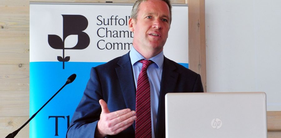 """Suffolk Chamber members hear about """"London's fastest growing airport"""""""