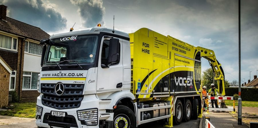 'Safe dig' suction excavations to be executed by eight Mercedes-Benz truck chassis