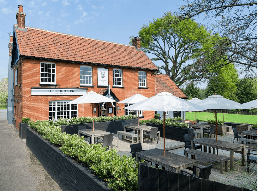 The Unruly Pig nominated in Great British Pub awards 2019