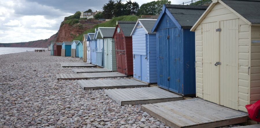 Beach hut prices increase in line with demand